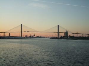 pod peste fluviu